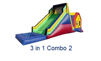 3 in 1 - Inflatables WV - Bounce House WV - Quantum Party Rentals