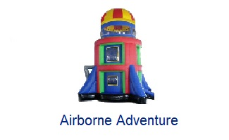 Airborne Adventure - Inflatables WV - Bounce House WV - Quantum Party Rentals