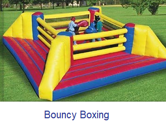 Bouncy Boxing - Inflatables WV - Bounce House WV - Quantum Party Rentals