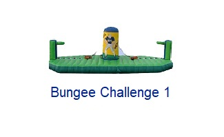Bungee Challenge - Inflatables WV - Bounce House WV - Quantum Party Rentals