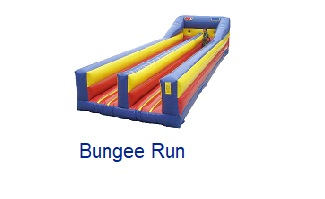 Bungee Run - Inflatables WV - Bounce House WV - Quantum Party Rentals