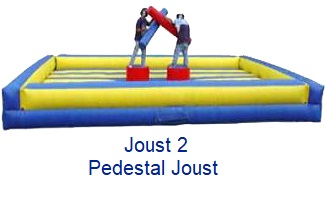 Pedestal Joust - Inflatables WV - Bounce House WV - Quantum Party Rentals