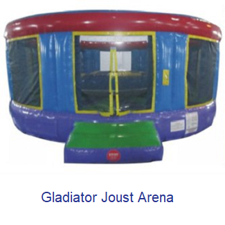 Gladiator Joust Arena - Inflatables WV - Bounce House WV - Quantum Party Rentals