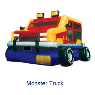 Monster Truck - Inflatables WV - Bounce House WV - Quantum Party Rentals