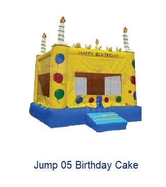Birthday Cake - Inflatables WV - Bounce House WV - Quantum Party Rentals
