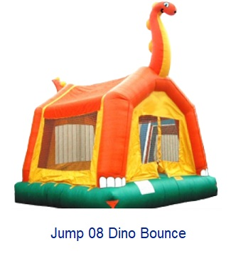 Dino Bounce - Inflatables WV - Bounce House WV - Quantum Party Rentals