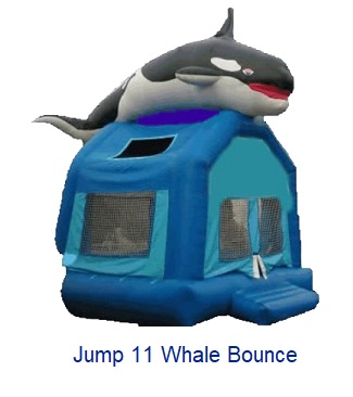 Whale Bounce - Inflatables WV - Bounce House WV - Quantum Party Rentals