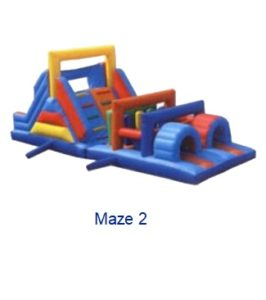 Maze - Inflatables WV - Bounce House WV - Quantum Party Rentals