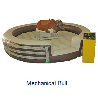 Mechanical Bull - Inflatables WV - Bounce House WV - Quantum Party Rentals