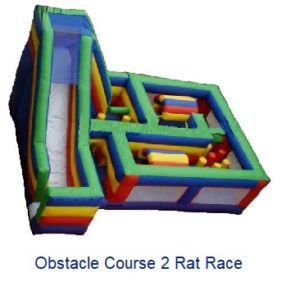 Obstacle Course - Inflatables WV - Bounce House WV - Quantum Party Rentals