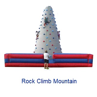 Rock Climb Mountain - Inflatables WV - Bounce House WV - Quantum Party Rentals