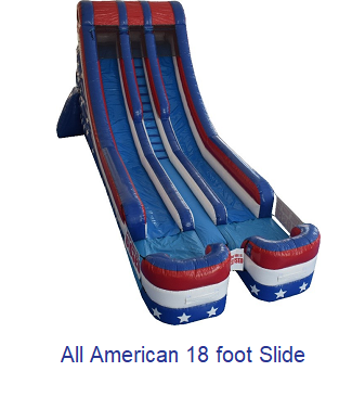 Foot Slide - Inflatables WV - Bounce House WV - Quantum Party Rentals