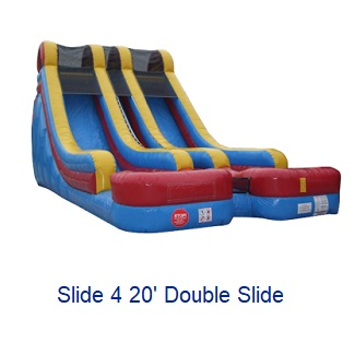Double Slide - Inflatables WV - Bounce House WV - Quantum Party Rentals
