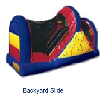 Backyard Slide - Inflatables WV - Bounce House WV - Quantum Party Rentals