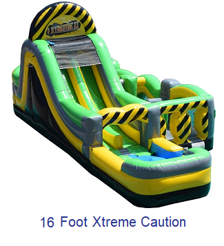 16 foot Xtreme - Inflatables WV - Bounce House WV - Quantum Party Rentals