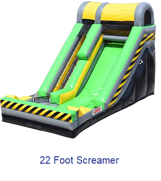 Foot Screamer - Inflatables WV - Bounce House WV - Quantum Party Rentals