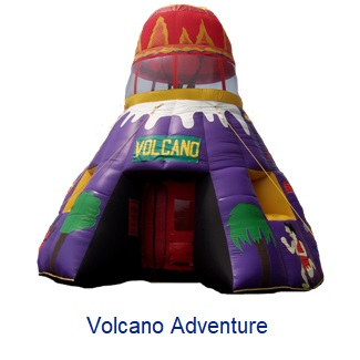 Volcano Adventure - Inflatables WV - Bounce House WV - Quantum Party Rentals