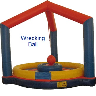 Wrecking Ball - Inflatables WV - Bounce House WV - Quantum Party Rentals