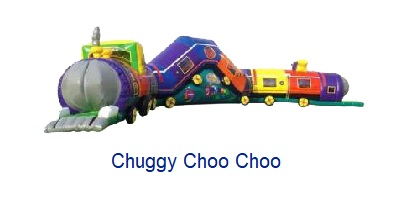 Chuggy Choo Choo - Inflatables WV - Bounce House WV - Quantum Party Rentals